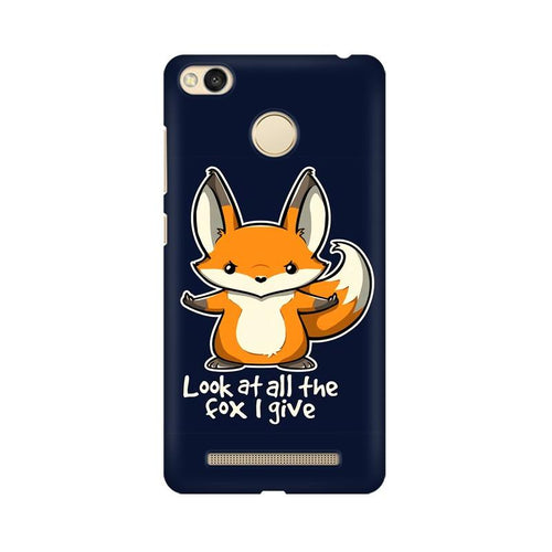 Fox Given Multicolour Case For Xiaomi Redmi 3s Prime