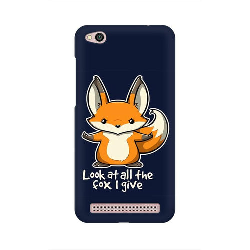 Fox Given Multicolour Case For  Xiaomi Redmi 5A