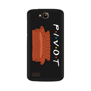 Friends Ross Pivot Multicolour Case For Huawei Honor Holly