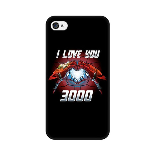 I Love You 3000  Multicolour Phone Case For Apple iPhone 4s