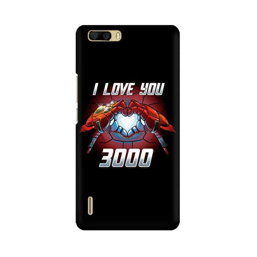 I Love You 3000  Multicolour Phone Case For Huawei Honor 6 Plus