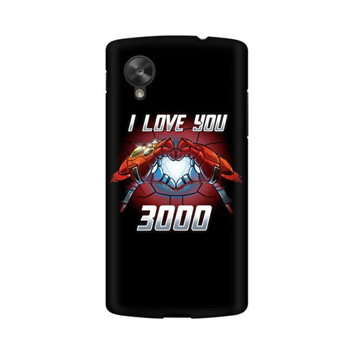 I Love You 3000  Multicolour Phone Case For LG Nexus 5