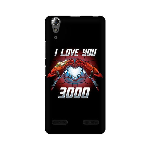 I Love You 3000  Multicolour Phone Case For Lenovo A6000