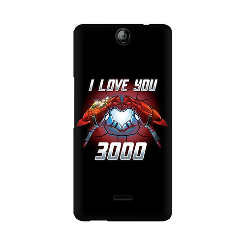 I Love You 3000  Multicolour Phone Case For Micromax Canvas Juice 3 Q392