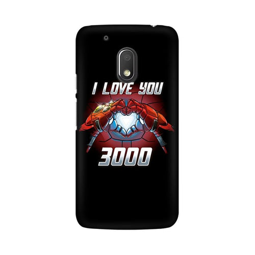 I Love You 3000  Multicolour Phone Case For Moto G4 Play
