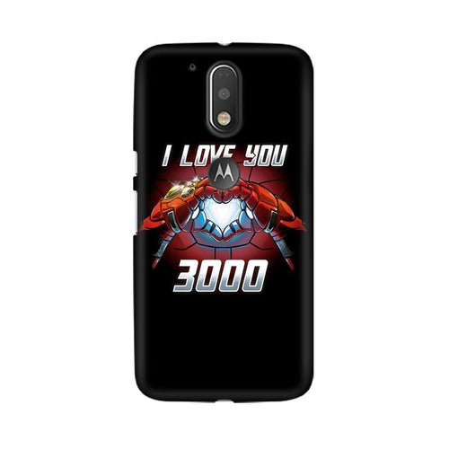 I Love You 3000  Multicolour Phone Case For Moto G4 Plus