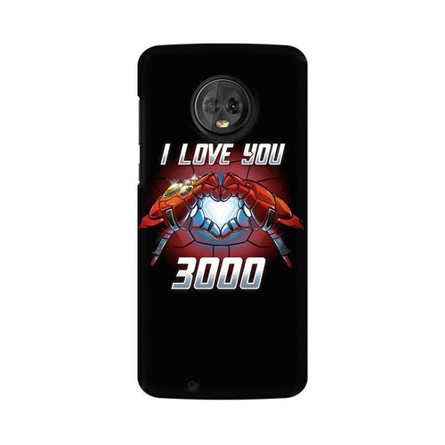 I Love You 3000  Multicolour Phone Case For Moto G6