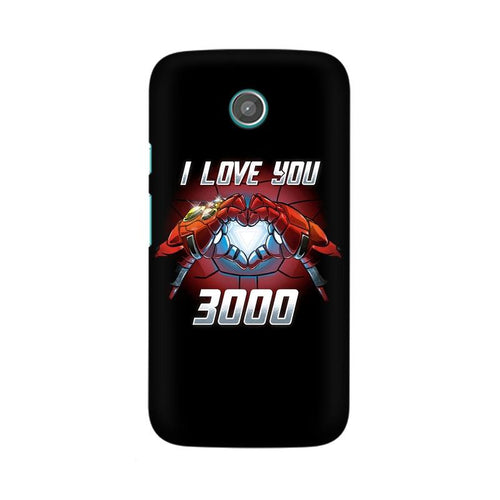 I Love You 3000  Multicolour Phone Case For Moto G