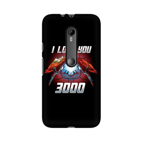 I Love You 3000  Multicolour Phone Case For Moto X Force