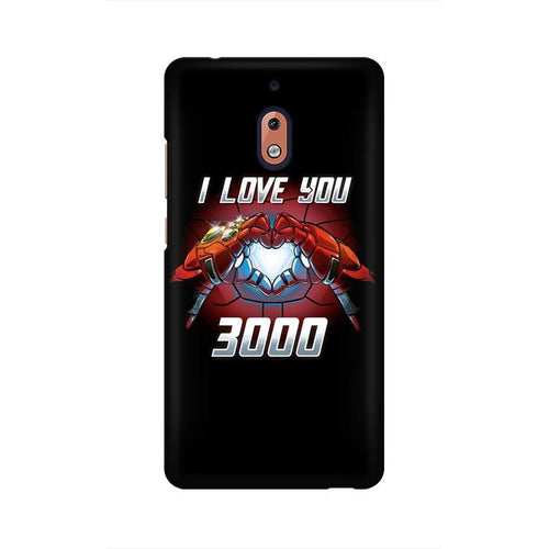 I Love You 3000 Multicolour Case For Nokia 2 point 1