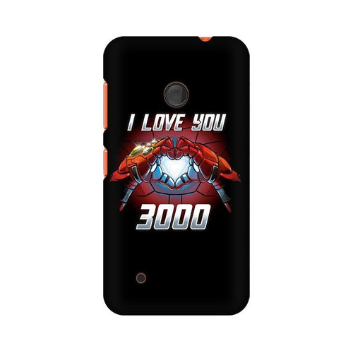 I Love You 3000 Multicolour Case For Nokia Lumia 530