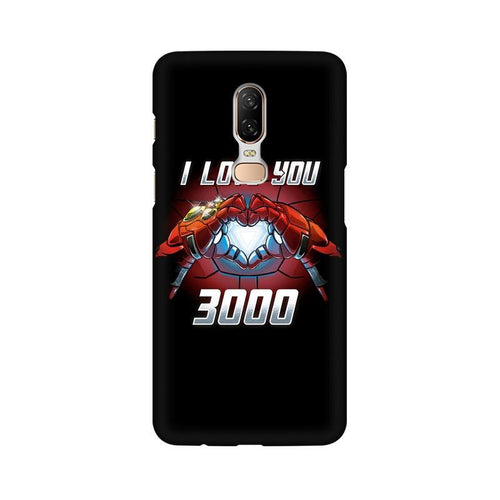 I Love You 3000 Multicolour Case For OnePlus 6