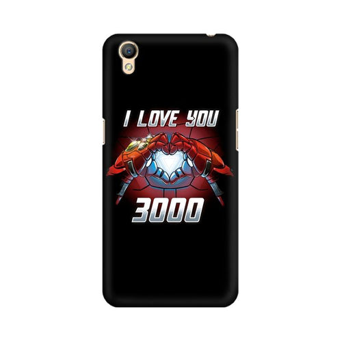 I Love You 3000 Multicolour Case For Oppo A37