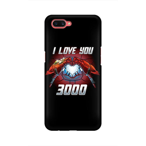 I Love You 3000 Multicolour Case For Oppo A3s
