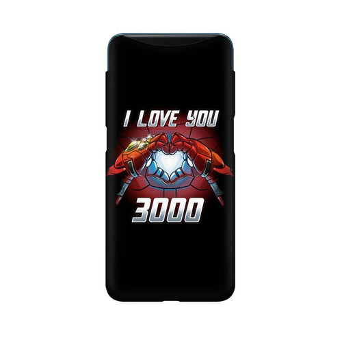 I Love You 3000 Multicolour Case For Oppo Find X