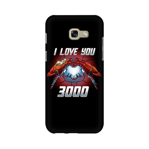 I Love You 3000 Multicolour Case For  Samsung A7 2017