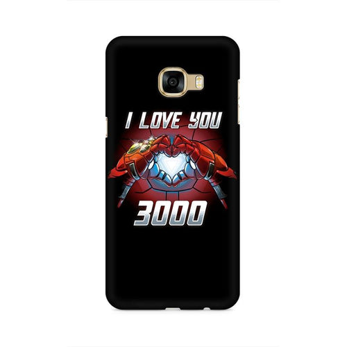 I Love You 3000 Multicolour Case For  Samsung C5 Pro