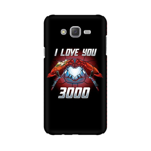 I Love You 3000 Multicolour Case For  Samsung J3