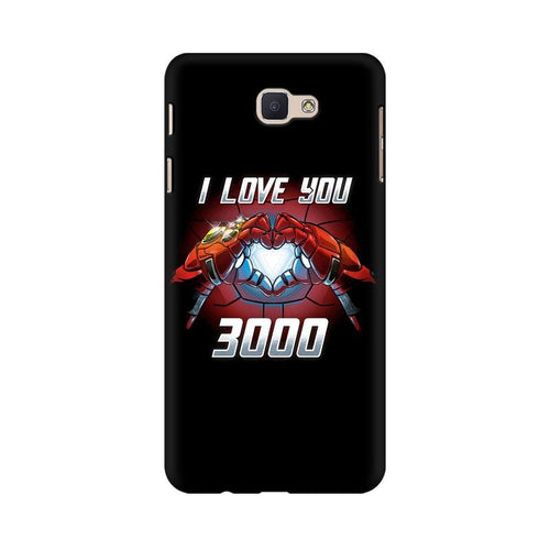 I Love You 3000 Multicolour Case For  Samsung J5 Prime