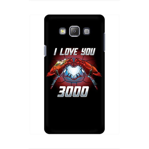 I Love You 3000 Multicolour Case For  Samsung On 7
