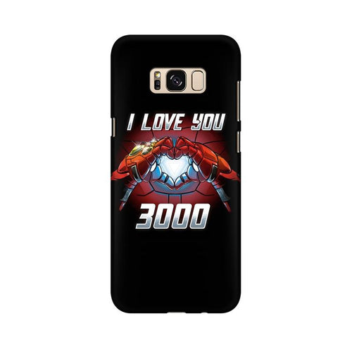 I Love You 3000 Multicolour Case For  Samsung S8 Plus