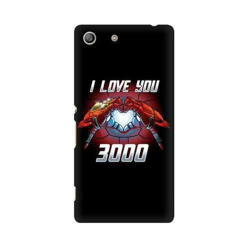 I Love You 3000 Multicolour Case For Sony Xperia M5