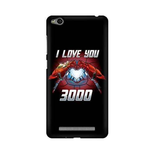 I Love You 3000 Multicolour Case For Xiaomi Redmi 3s