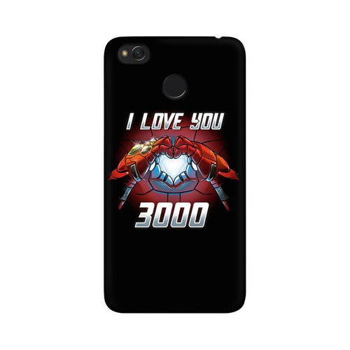 I Love You 3000 Multicolour Case For  Xiaomi Redmi 4