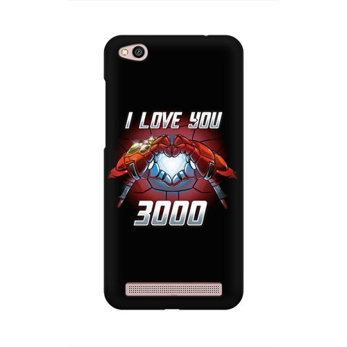 I Love You 3000 Multicolour Case For  Xiaomi Redmi 5A