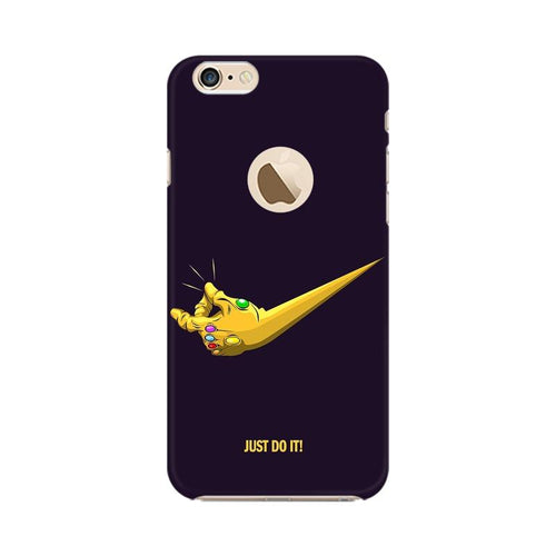 Just Do It  Multicolour Phone Case For Apple iPhone 6s with Apple hole