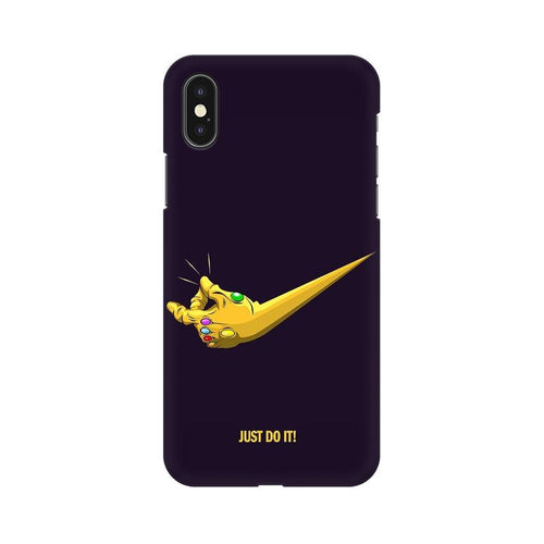 Just Do It  Multicolour Phone Case For Apple iPhone XS
