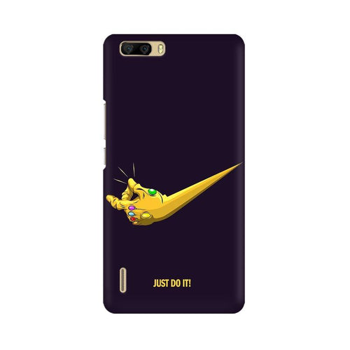 Just Do It  Multicolour Phone Case For Huawei Honor 6 Plus