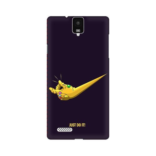 Just Do It  Multicolour Phone Case For InFocus M330