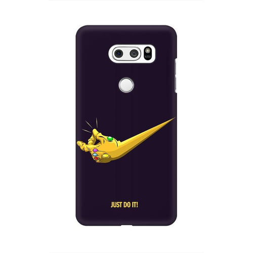 Just Do It  Multicolour Phone Case For LG V30