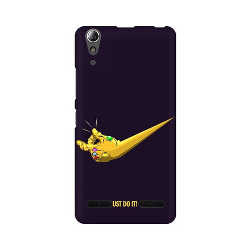 Just Do It  Multicolour Phone Case For Lenovo A6000
