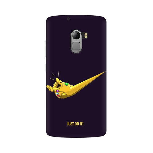Just Do It  Multicolour Phone Case For Lenovo Vibe K4 Note