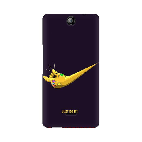 Just Do It  Multicolour Phone Case For Micromax Canvas Juice 3 Q392