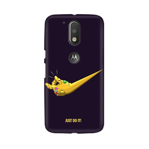 Just Do It  Multicolour Phone Case For Moto G4 Plus