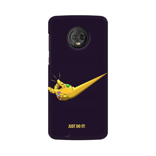 Just Do It  Multicolour Phone Case For Moto G6