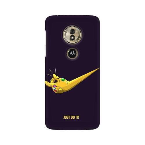 Just Do It  Multicolour Phone Case For Moto G6 Play
