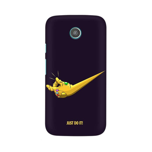 Just Do It  Multicolour Phone Case For Moto G