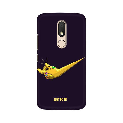 Just Do It  Multicolour Phone Case For Moto M