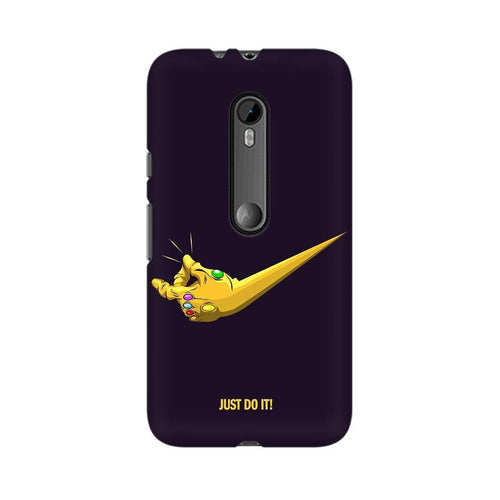 Just Do It  Multicolour Phone Case For Moto X Force