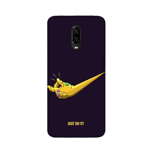 Just Do It Multicolour Case For Oneplus 6T