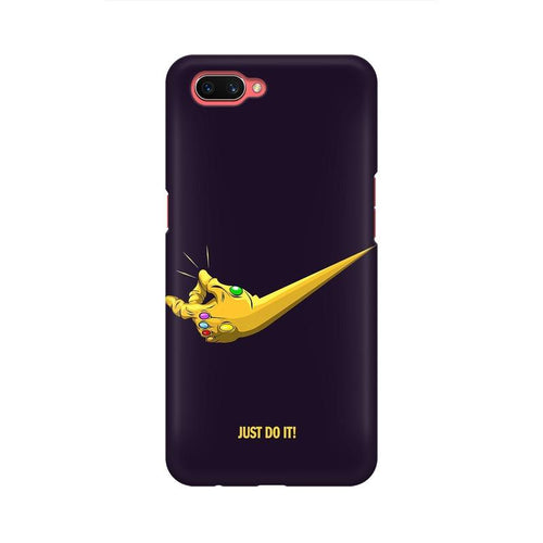 Just Do It Multicolour Case For Oppo A3s