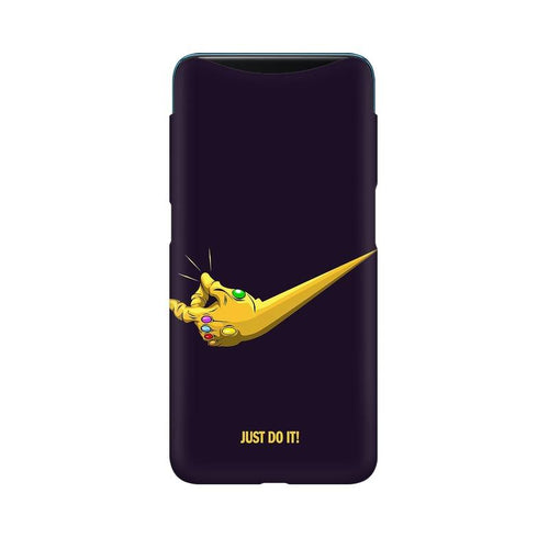 Just Do It Multicolour Case For Oppo Find X