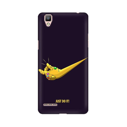 Just Do It Multicolour Case For Oppo R9