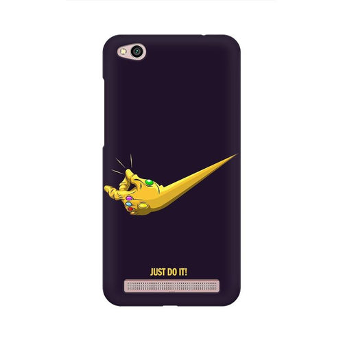 Just Do It Multicolour Case For  Xiaomi Redmi 5A
