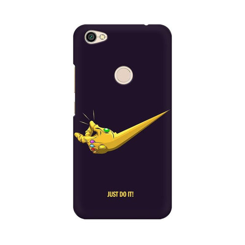 Just Do It Multicolour Case For Xiaomi Redmi Y1