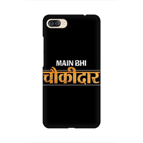 Main Bhi Chowkidar Multicolour Phone Case For Asus Zenfone 4 Max ZC554KL